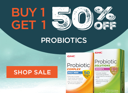 Buy 1, Get 1 50% Off Probiotics