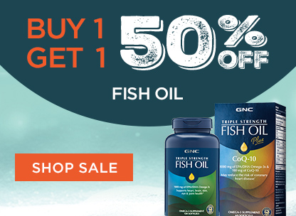 Buy 1, Get 1 50% Off Fish Oil