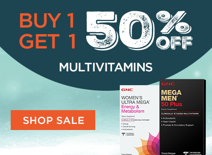 Buy 1, Get 1 50% Off Multivitamins