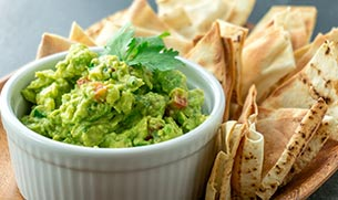 Guacamole with Whey Protein