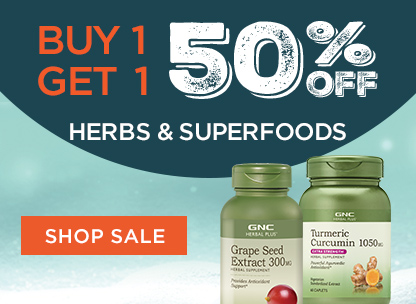 Buy 1, Get 1 50% Off Herbs & Superfoods