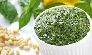 Pesto Sauce with Whey Protein Recipe
