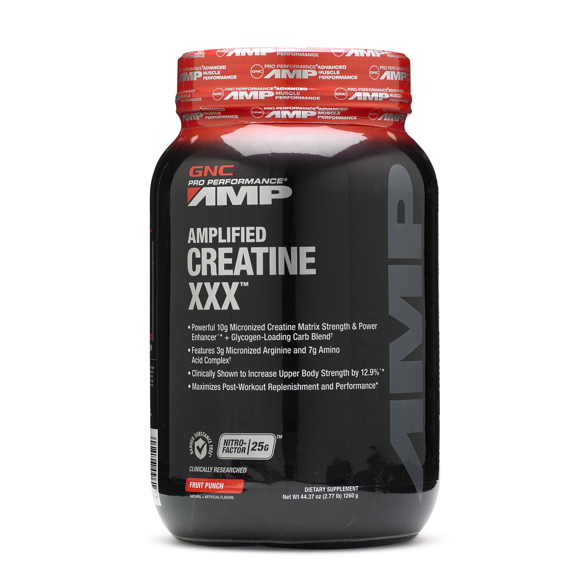 gnc creatine