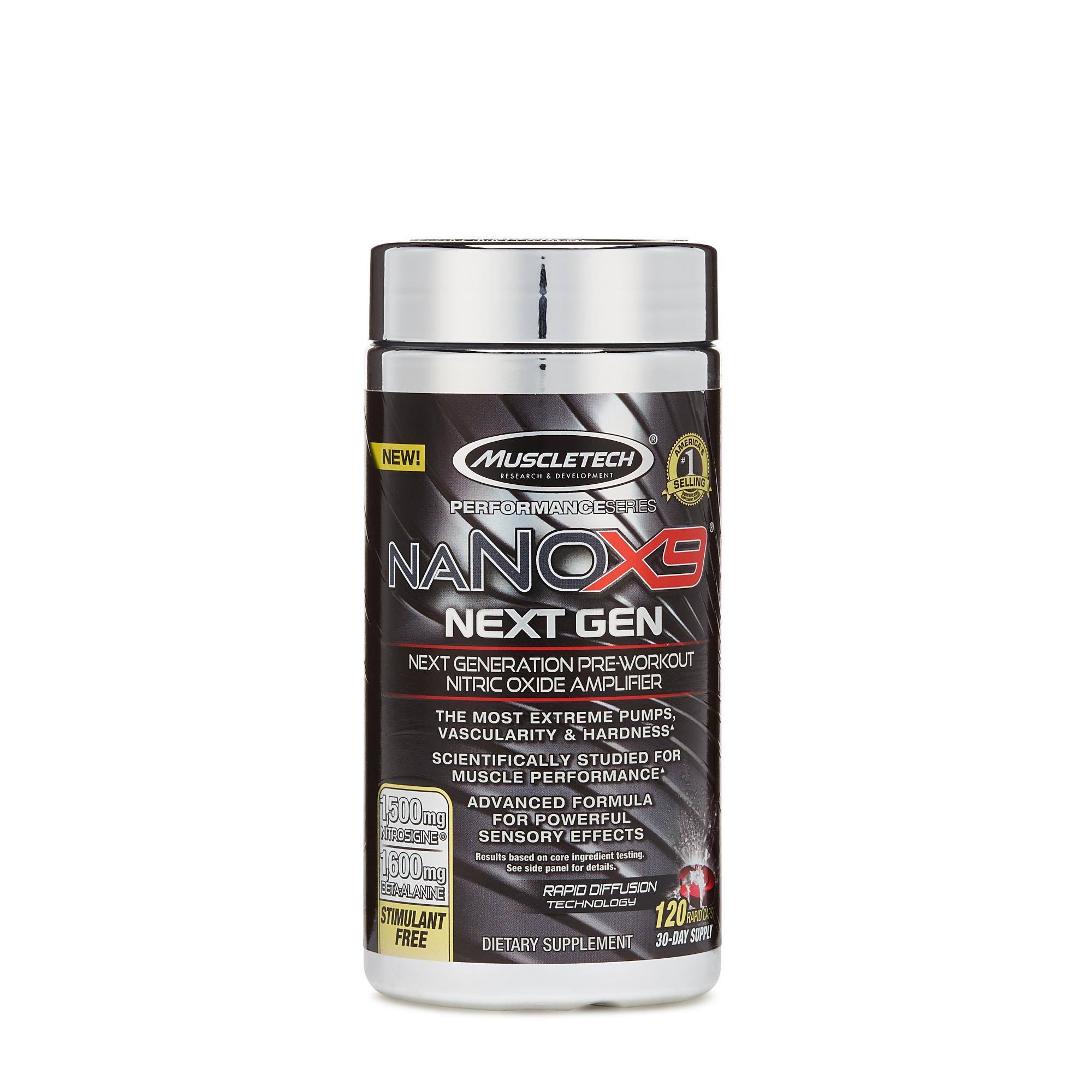 MuscleTech™ naNOX9® Next Gen | GNC
