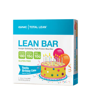 Lean Bar - Vanilla Birthday CakeVanilla Birthday Cake | GNC
