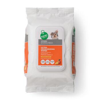 Ultra Deodorizing Wipes- Refreshing Citrus Scent | GNC