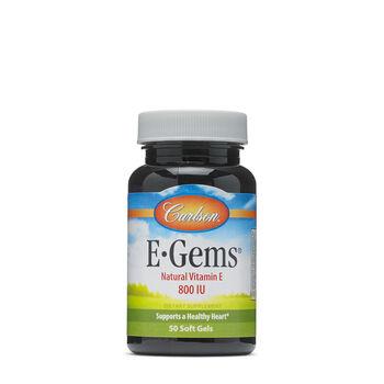 E-Gems® Natural Vitamin E - 800 IU | GNC