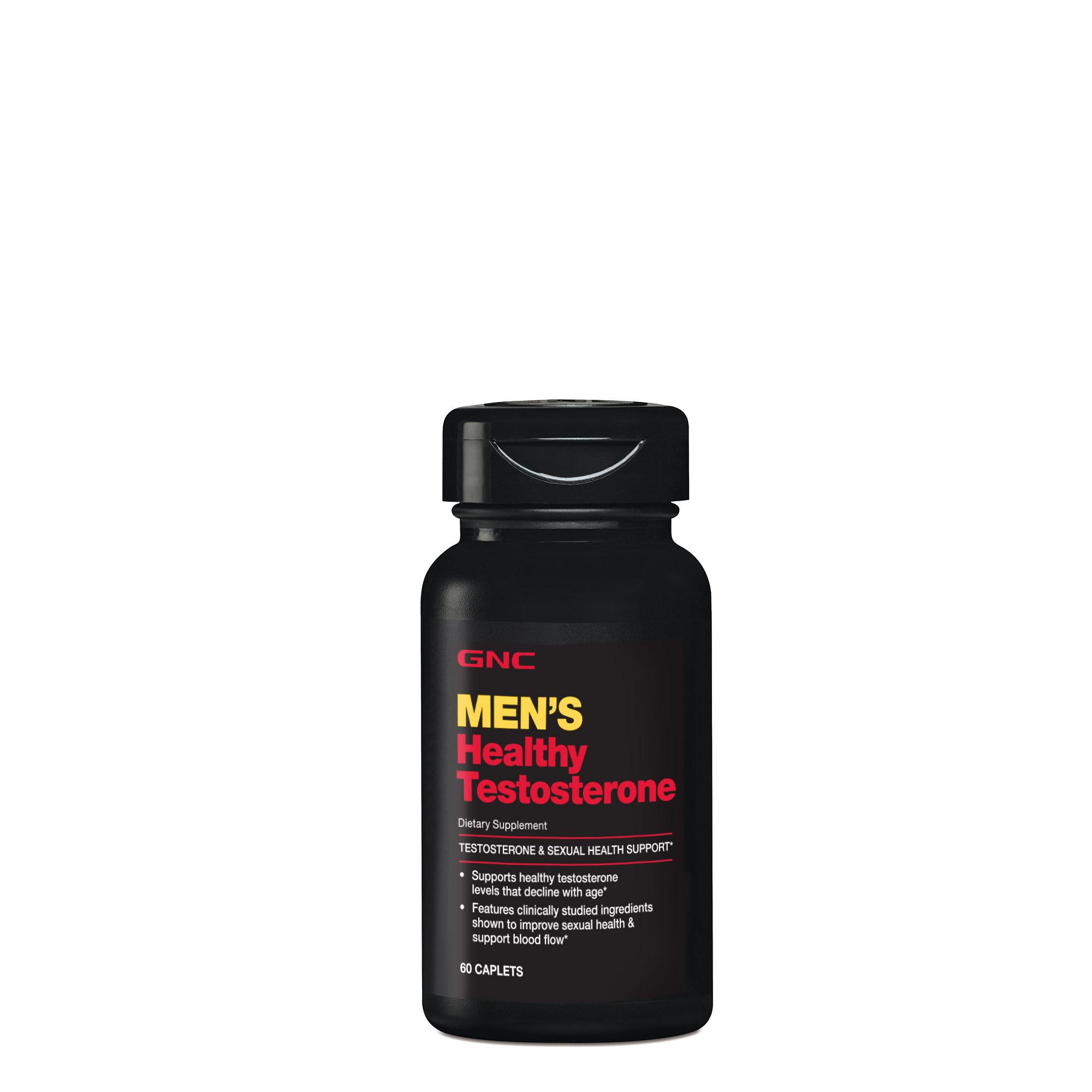 Men's Healthy Testosterone GNC