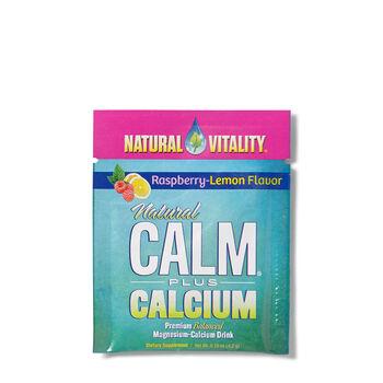 Natural Calm Plus Calcium - Raspberry-Lemon | GNC