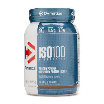 ISO 100® 100% - Fudge BrownieFudge Brownie | GNC