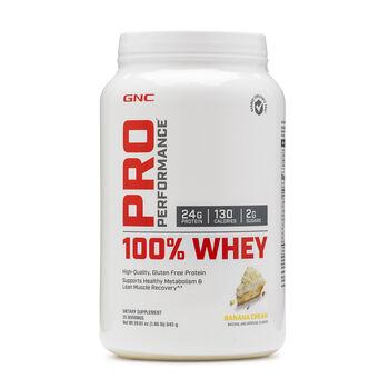 100% Whey - Banana CreamBanana Cream | GNC