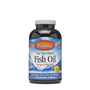 The Very Finest Fish Oil - Natural Lemon Flavor | GNC