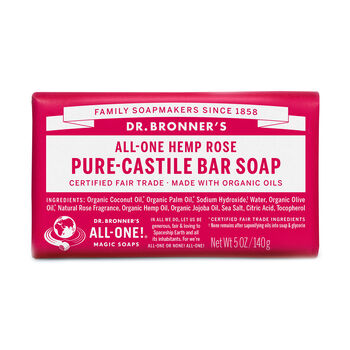 Pure-Castile Bar Soap - Rose | GNC