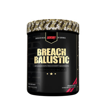 Breach Ballistic Energized BCAA* - Strawberry KiwiStrawberry Kiwi | GNC