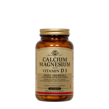Calcium Magnesium with Vitamin D3 | GNC