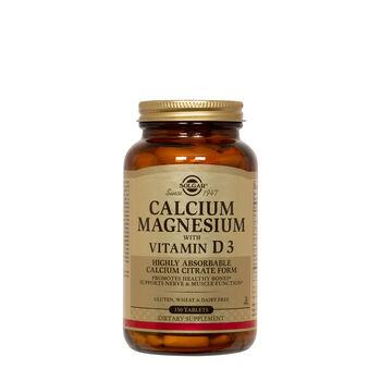 Calcium Magnesium with Vitamin D3 | GNC