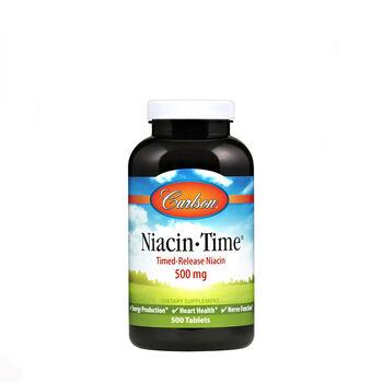 Time-Release Niacin - 500 mg | GNC