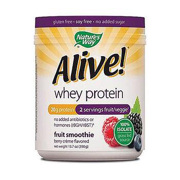 Alive!® Whey Protein - Berry CremeBerry Creme | GNC