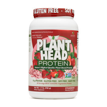 Plant Head ProteinStrawberry   GNC