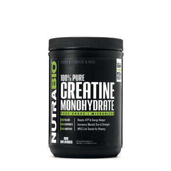 100% Pure Creatine Monohydrate - Unflavored   GNC