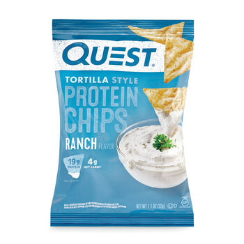 Tortilla Style Protein Chips - Ranch | GNC