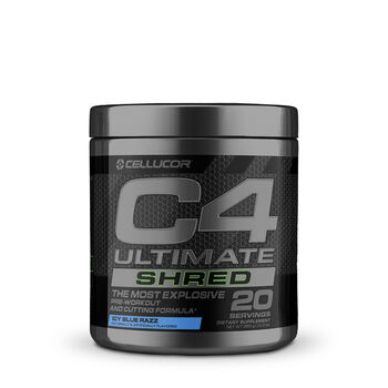 C4 Ultimate Shred - Icy Blue RazzIcy Blue Razz | GNC