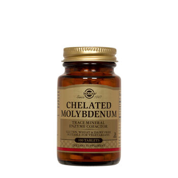 Chelated Molybdenum   GNC