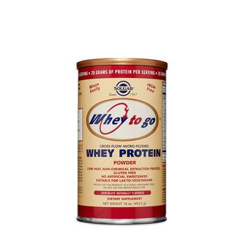 Whey To Go® Whey Protein - Chocolate | GNC
