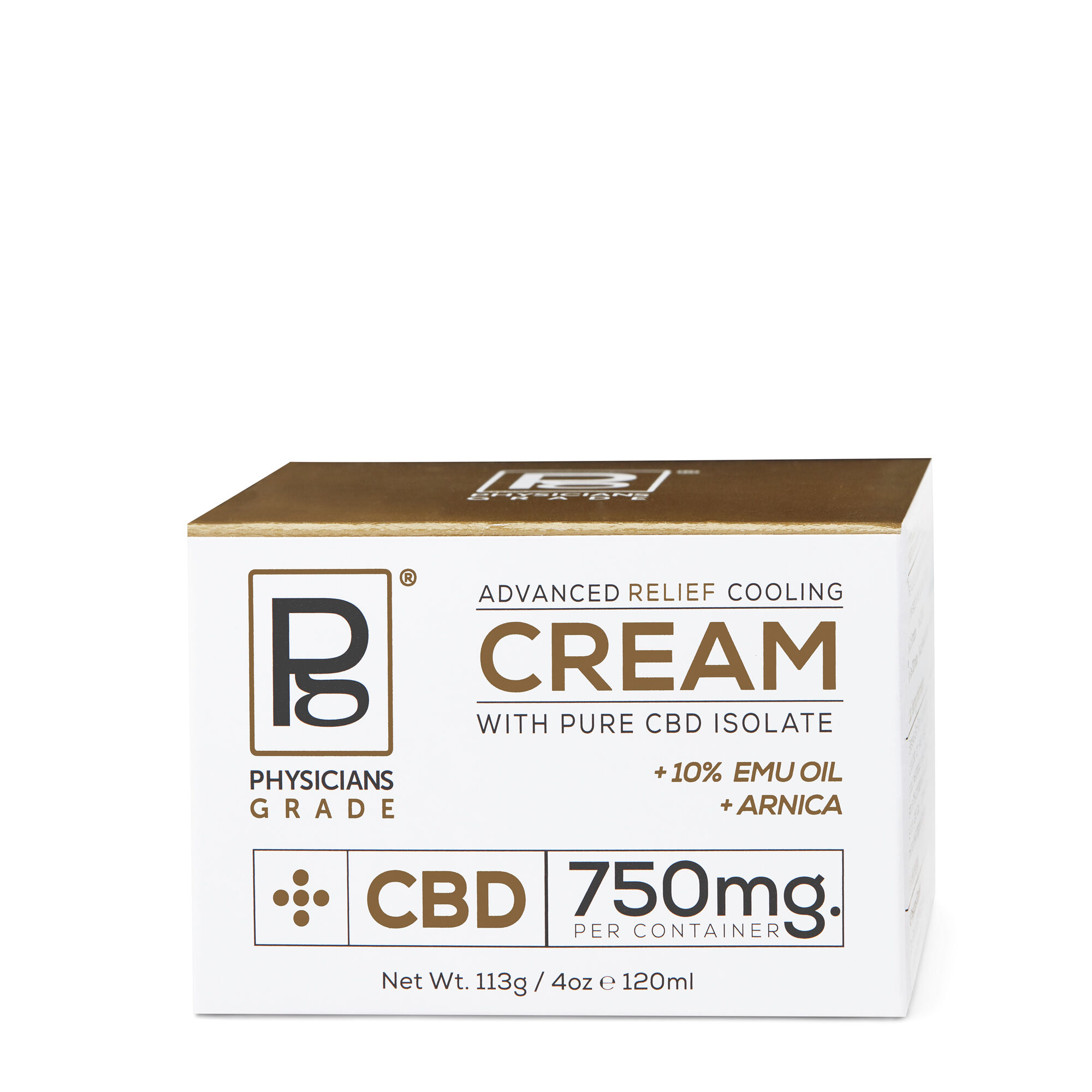 Advanced Relief Cooling Cream with Pure CBD Isolate