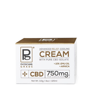 Advanced Relief Cooling Cream with Pure CBD Isolate | GNC