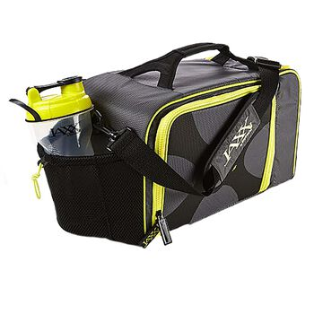 FitPak XL Meal Prep Bag w/ Portion Control Container Set- Yellow   GNC