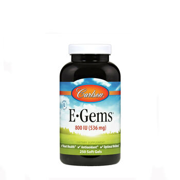 E-Gems® Natural Vitamin E - 800 IU | GNC