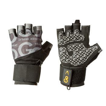 GoTac Wrist Wrap Glove - Black/Gray Extra LargeX-Large   GNC