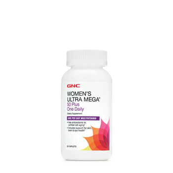 Women's Ultra Mega® 50 Plus One Daily | GNC
