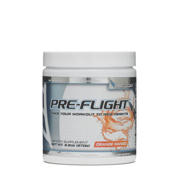 G6 Sports Pre-Flight - Orange MangoOrange Mango | GNC