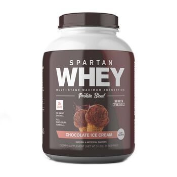 Spartan Whey - Chocolate Ice CreamChocolate Ice Cream | GNC