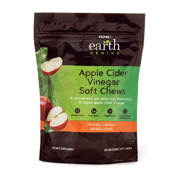 Apple Cider Vingear Soft Chews - Honey Lemon | GNC