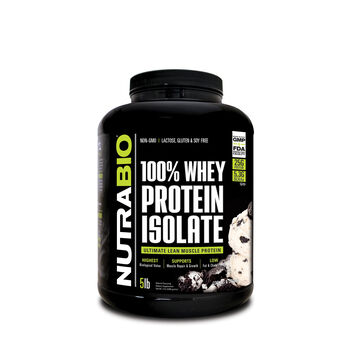 100% Whey Protein Isolate - Cookies and CreamCookies and Cream | GNC