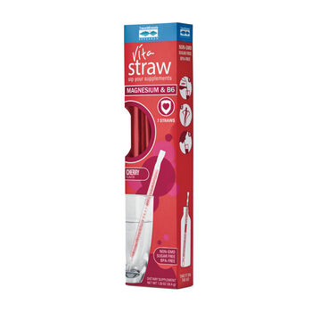 Vita Straw™ Magnesium and B6 - Cherry | GNC