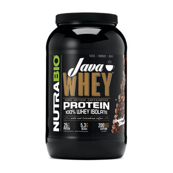 Java Whey - Original Blend | GNC