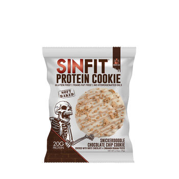 SIN FIT® Protein Cookie - Snickerdoodle Chocolate ChipSnickerdoodle Chocolate Chip | GNC