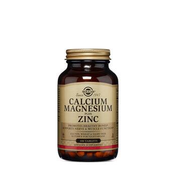Calcium Magnesium plus Zinc   GNC