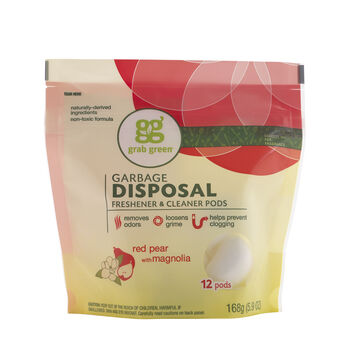 Garbage Disposal Freshener & Cleaner Pods - Red Pear with MagnoliaRed Pear with Magnolia | GNC