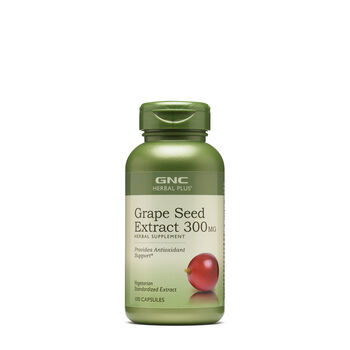 GNC Herbal Plus® Grape Seed Extract 300MG