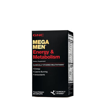 b4e22cd4b7 GNC Mega Men® Energy & Metabolism