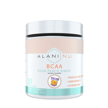 BCAA - Sour Peach RingsSour Peach Rings | GNC