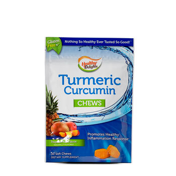 Turmeric Curcumin Chews - Tropical Fruit | GNC