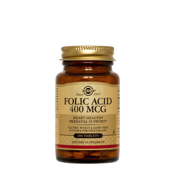 Folic Acid 400 MCG | GNC
