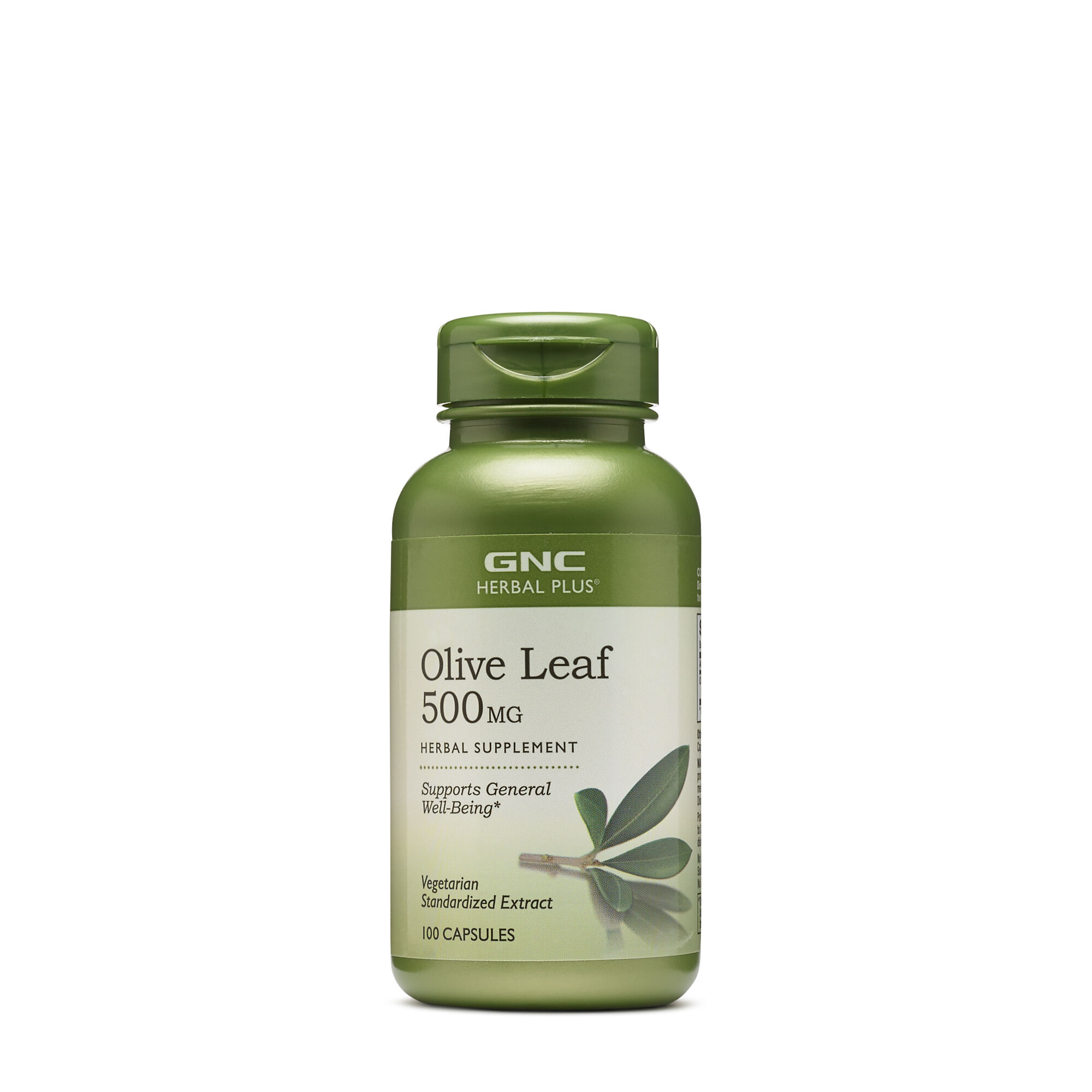 GNC Herbal Plus® Olive Leaf 500 mg