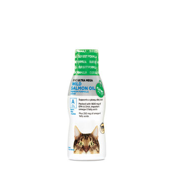 Mega Wild Salmon Oil for All Cats | GNC